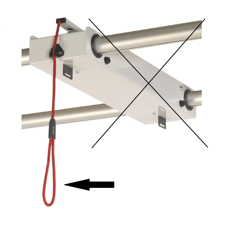 Redcord kiegészítő kötélfék
